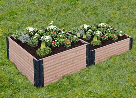 Hochbeet im Garten EAN 4260124214738 Gartenfreude