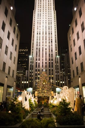 Channel gardens rockefeller center © D.aniel - Fotolia.com