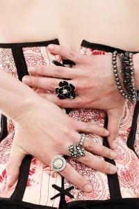Finger-Schienen Schmuck